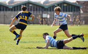 The Scots College Under 16's Rugby trial vs The Kings School