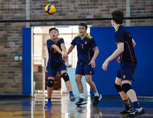 The Scots College volleyball vs Sydney Grammar School