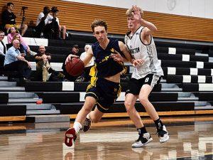 The Scots College 1st Basketball team vs Newington College