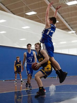 The Scots College 1st Basketball team vs St Ignatius College