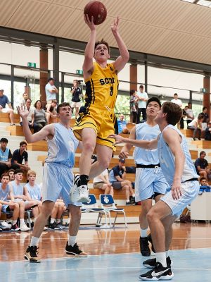 The Scots College 1st Basketball team vs The Kings School