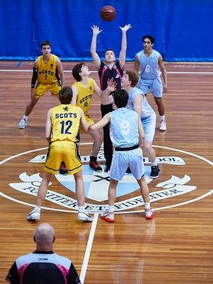 The Scots College 2nd Basketball team vs The Kings School
