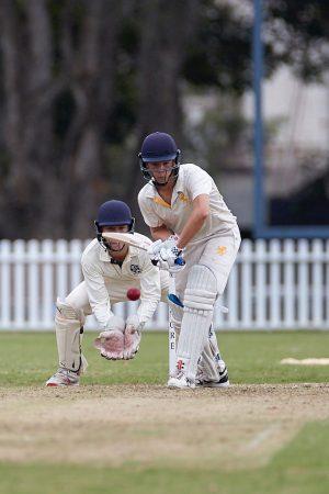 The Scots College 1st XI cricket team vs The Shore School