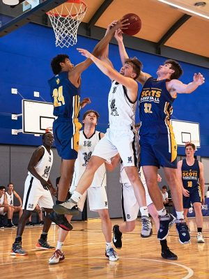 Raschke Cup - The Scots College 1st Basketball team