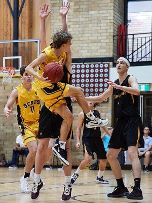 The Scots College 1st Basketball team vs Sydney Grammar