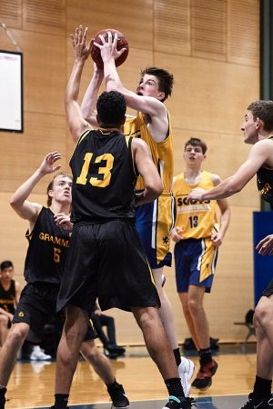 Yeend Shield - The Scots College 2nd Basketball team