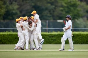 The Scots College 1st XI cricket team vs Sydney Grammar