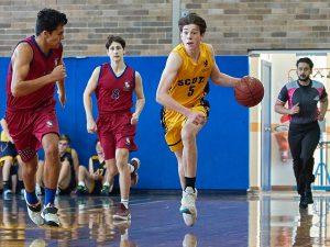 The Scots College 2nd Basketball team vs St Joseph's College 210306