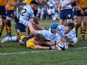 Scots College 1st Rugby XV vs The King's School 210605