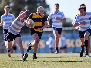 Scots College 4th Rugby XV vs The King's School 210605